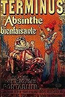 フランス–Terminus Absintheヴィンテージポスター 12 x 18 Art Print LANT-1984-12x18