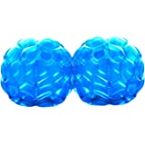 GoBroBrand Bubble Bumper Balls 2 pack of Inflatable Buddy hamster Bbop Ball set - Used also as Giga Sumo Wearable human zorb