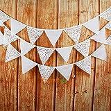 FidgetGear 3.2m Tropical Flags Banner Garland Bunting Pennant Wedding Birthday Party Decor