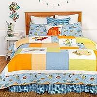 高級特大キルト、高級特大キルト、Sea Life Full/Queen 3 Piece Set ブルー 82159.3FQSET