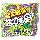 明治製菓 超ひもQグレープ&マスカット 1本×20個