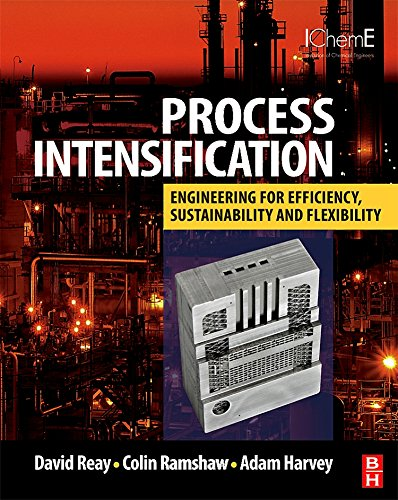Download Process Intensification: Engineering for Efficiency, Sustainability and Flexibility (Isotopes in Organic Chemistry) 0750689412