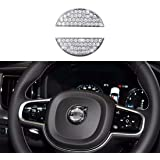 Bling Bling Car Steering Wheel Decorative Diamond Crystal Decal Decoration Cover Sticker Fit For Volvo,DIY Bling Car Steering
