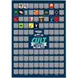 A2 Scratch Off Wall Poster (Must See Cult Movies)