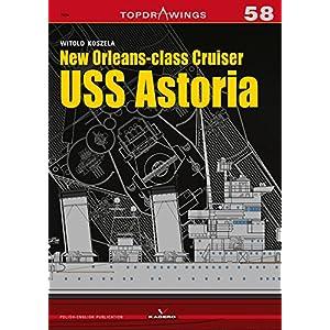 New Orleans-class Cruiser Uss Astoria (Topdrawings)