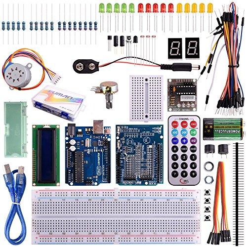 Kuman 32個 arduinoに適用 初心者 電子工作 実験 キット R...