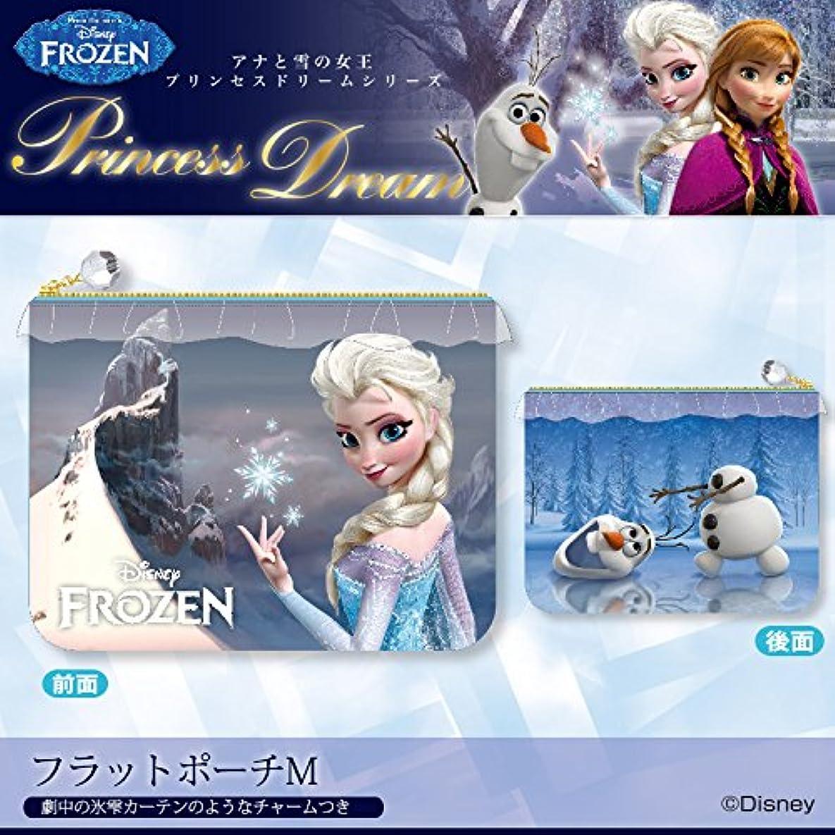 寛容な南センブランス[ディズニー]  プリンセスドリームシリーズ/フラットポーチM [Frozen -アナと雪の女王-]