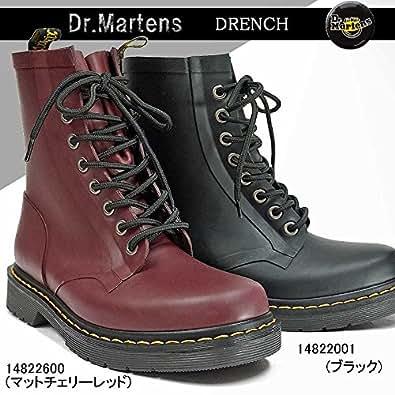 [ドクターマーチン] ラバーブーツ ドレンチ 8ホールブーツ 14822600(マットチェリーレッド) 30.0cm(UK11)
