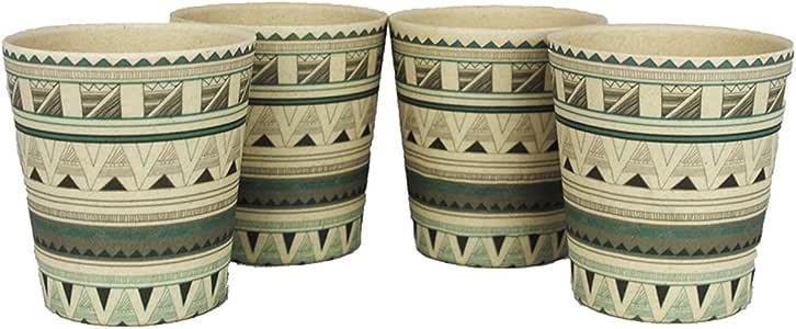 エコソウライフ(EcoSouLife) 4シッパーカップス(4 Sipper Cups) Tribal Bliss 14643