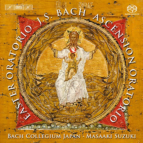 J.S.バッハ : 復活祭オラトリオ BWV249 | 昇天祭オラトリオ BWV11 (J.S.Bach : Easter Oratorio | Ascension Oratorio / Bach Collegium Japan | Masaaki Suzuki) [SACD Hybrid] [輸入盤] [日本語解説・歌詞訳付]