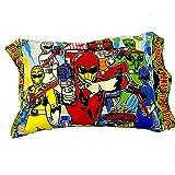 モリシタ 子供枕 ジュウオウジャー 28×39cm ポリエステル100% 003060010160012