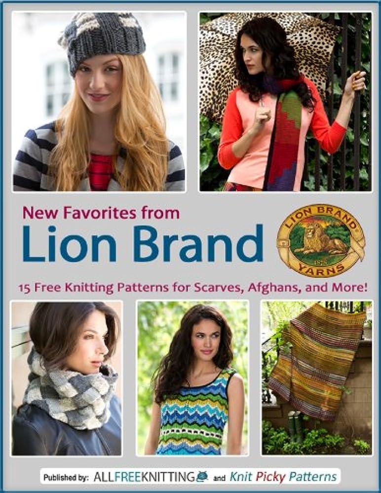 滑り台環境息子New Favorites from Lion Brand: 15 Free Knitting Patterns for Scarves, Afghans and More (English Edition)
