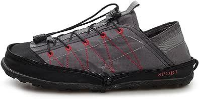 [フェニックス ショップ] おしゃれ 男女兼用 軽量 携帯 アウトドアシューズ ファスナー付き折りたたみ式 運動スポーツシューズ 大きいサイズ トレッキング シューズ 防滑 登山靴