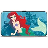 Buckle-Down Women's Hinge Wallet-Little Mermaid Ariel