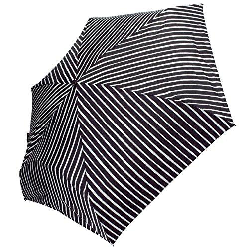 マリメッコ 折りたたみ傘 ウニッコ ブラック/ホワイト 043442 022 [並行輸入品]