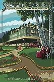 Sol Duc Hot Springsホテル、オリンピック国立公園、ワシントン 36 x 54 Giclee Print LANT-42778-36x54