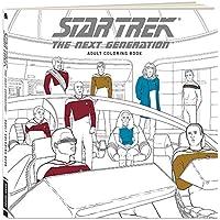 STAR TREK : THE NEXT GENERATION大人用カラーリングブックwith 45 Illustrations