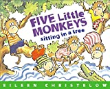 Five Little Monkeys Sitting in a Tree Book & CD (A Five Little Monkeys Story)