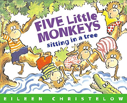 Five Little Monkeys Sitting in a Tree (A Five Little Monkeys Story)の詳細を見る