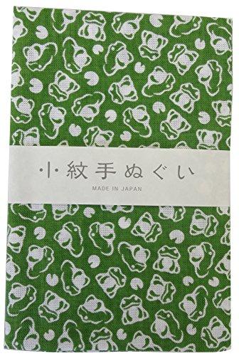 宮本 小紋手ぬぐい かえる 33×90cm 33355