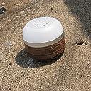 MAGNA (マグナ) 充電式 Bluetooth 防水スピーカー LEDランタン 無垢材 ブラックウォールナット仕様 専用ハードケース付