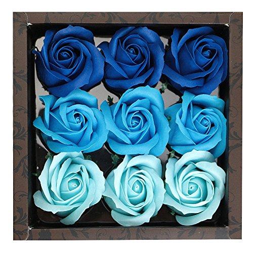 (キステ)Kisste 入浴剤 フラワーフレグランス*ROSE* 5-3-01962 【No.7】Blue 青 (1968)