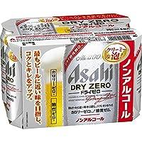 アサヒ ドライゼロ ノンアルコール 350ml×6缶パック 6本
