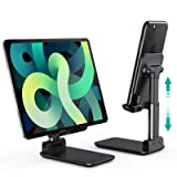 CHOETECH Phone Stand, Foldable Desk Tablet Stand, Angle Height Adjustable Phone Holder & Tablet Stand Compatible with Tablet