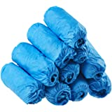 Dssiy 100 Pack Disposable Hygienic Shoe & Boot Covers for Medical, Construction, Workplace, Indoor Carpet Floor Protection,On