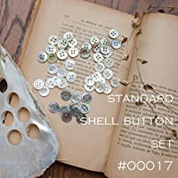 【貝ボタン定番セット】#00017 10mm 各10個 *初めての方にも セット