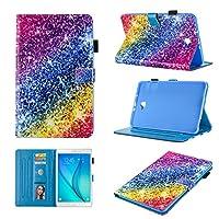 Samsung Galaxy Tab A 10.1ケース – Monstek ウルトラスリム 軽量 スマートフォリオスタンドケースカバー 自動スリープ/ウェイク Samsung Galaxy Tab A 10.1インチ(SM-T580/T585)タブレット用