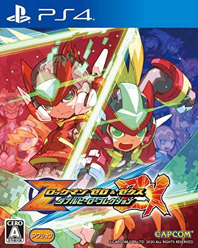 ロックマン ゼロ&ゼクス ダブルヒーローコレクション (【予約特典】「ロックマン ゼロ&ゼクス アルティメットリミックス」 同梱) - PS4