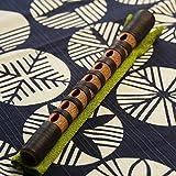 篳篥(ひちりき) 煤竹籐巻 煤竹制の高級品