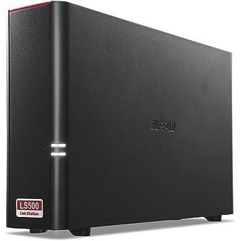 BUFFALO スマホ・タブレットで使える ネットワークHDD(NAS) デュアルコアCPU 高速モデル 2TB LS510D0201