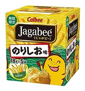 カルビー Jagabeeのりしお味 90g×12箱