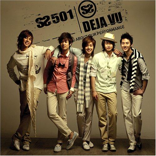 SS501 3rd Single - Deja Vu(韓国盤)