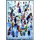 アートショップ フォームス 「ジン/ウォッカ/酒瓶/Chill Out」アートポスター 大サイズ
