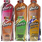 shotz ショッツ エナジージェル (カーボショッツ) おためし6味 45g×6個