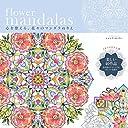 flower mandalas 心を整える 花々のマンダラぬりえ