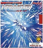 ニッタク(Nittaku) 卓球 ラバー ハモンド 裏ソフト 高弾性 NR-8527 レッド 中