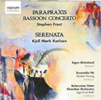 Parapraxis: Works for Bassoon Orchestra & Choir