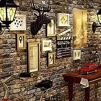 写真の壁/写真のフレームの壁/フレームソリッドウッドフォトフレーム創造的な装飾画5インチ7インチ6 * 12インチ ( Color : Black and white )