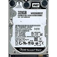 Western Digital wd3200bekt-00ka9t0DCM : hhntjbbb 320GB
