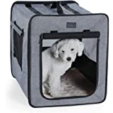 Petsfit Sturdy Soft Portable Pet Crate for Pets up to 35 Pounds