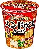 サンヨー食品 丸大食品監修 スンドゥブ辛口味 ラーメン 65g ×12個