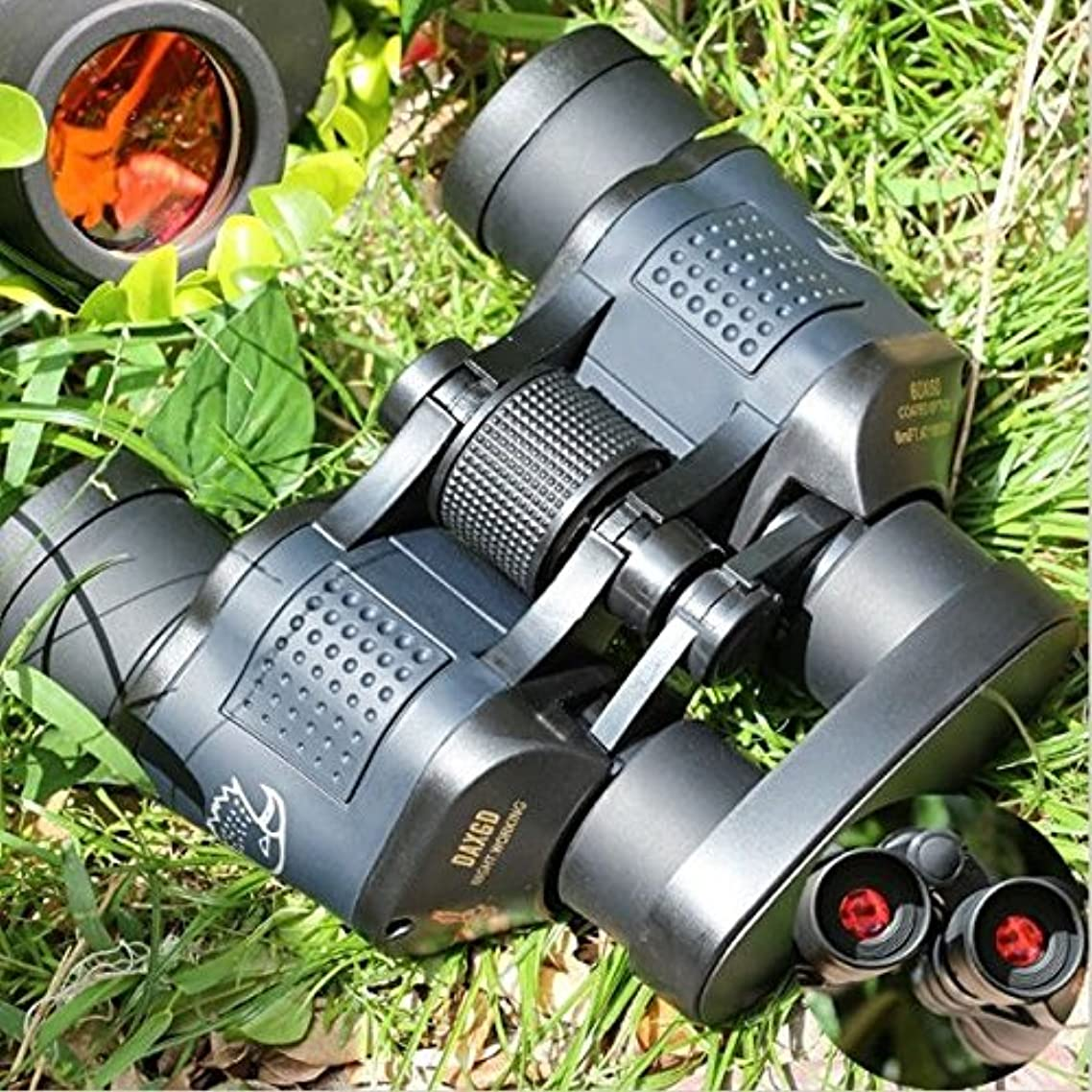 コメントチャンピオンミットzoostliss Military光学双眼鏡5000 M高解像度望遠鏡Rapidフォーカス双眼鏡withストラップとバッグの狩猟キャンプ監視スポーツイベント旅行