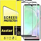 YMH for Huawei P30 Pro Tempered Glass Screen Protector, [Premium Quality] Edge to Edge [Case Friendly] [Full Cover] [3D] Anti