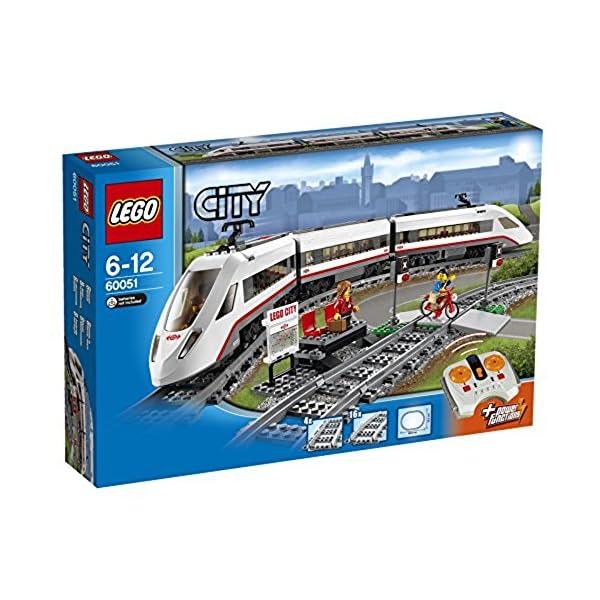 レゴ (LEGO) シティ ハイスピードパッセン...の商品画像