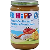Hipp Organic Pasta W Fish and Vege In Tomato Sauce, 220g