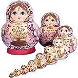 YAKELUS専業マトリョーシカ人形 ブランド10層手作り プレゼント おもちゃ1075